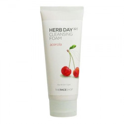 Очищающая пенка для умывания The Face Shop Herb Day 365 Cleansing Foam