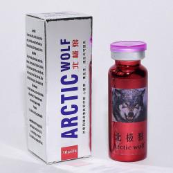 Арктический волк Arctic Wolf - натуральный препарат для потенции 10 таб