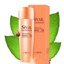 Восстанавливающая эссенция для лица с экстрактом улитки и гиалуроновой кислоты Snail Nutrition (эмульсия 130 мл) (улитка розовая серия)
