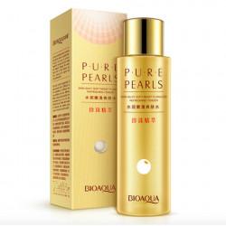 Увлажняющий лосьон BioAqua Pure Pearls с натуральным жемчугом