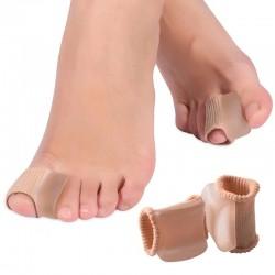 Кольцо гелево-тканевое с межпальцевым корректором, подушечка (разделитель пальцев ног), Алматы