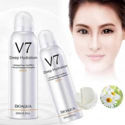 BIOAQUA V 7 Защитный спрей для лица с тонирующим эффектом («Ленивый макияж»)