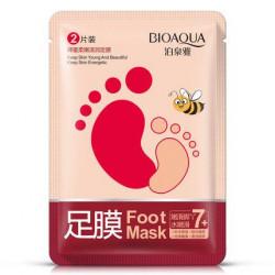 Питательные, увлажняющие носочки для ног, экспресс увлажнение BIOAQUA