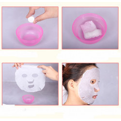 Прессованные косметические одноразовые маски-таблетки для лица. Для косметических процедур
