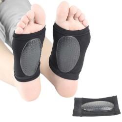 Эластичный бандаж, ортопедический супинатор с удобным гелем (Носочек)