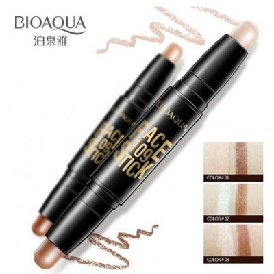 Стик – корректор «BIOAQUA» двухсторонний для лица 1.Натуральный цвет + цвет темного кофе