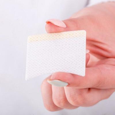 Набор виниловых защитных наклеек для изоляции нижних ресниц и макияжа 20 пар, 3,5*4,5 см