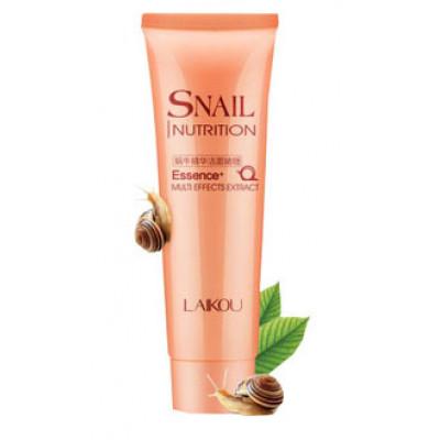 Snail Nutrition Гель для умывания с экстрактом улитки (улитка розовая серия)