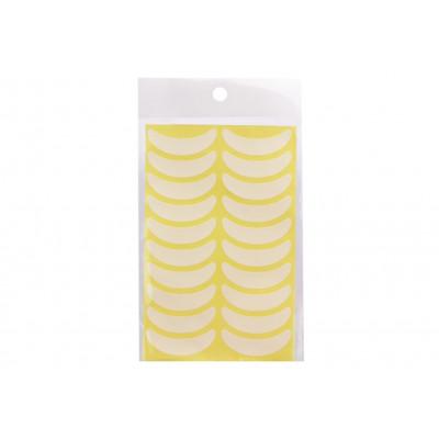 Виниловые патчи, для подклейки нижних ресниц, 5 листов в упаковки (90 шт)