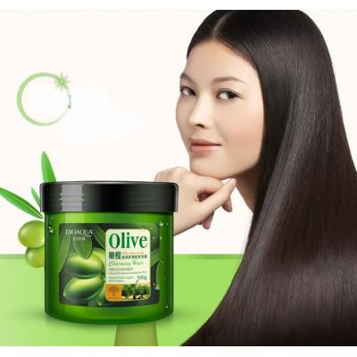 Маска для волос на основе оливкового масла