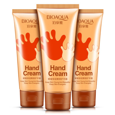 Медовый крем для рук без эффекта пленки на руках