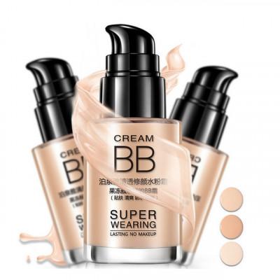 Тональная основа под макияж с гиалуроновой кислотой -Отбеливание, Увлажняющий ,Масло-контроль Водонепроницаем